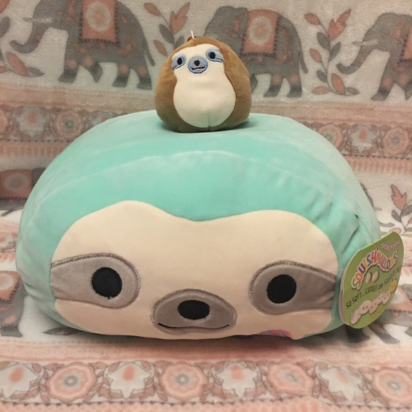 Squishmallow Sloth Bundle NWT 🦥